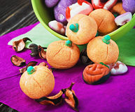 Jujube and souffle of a holiday Halloween Stock Photos