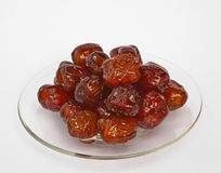 Jujube in Syrub Royalty Free Stock Photo