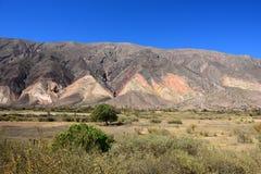 Jujuy,在阿根廷北部 免版税图库摄影