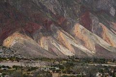 Jujuy, ao norte de Argentina Imagens de Stock Royalty Free
