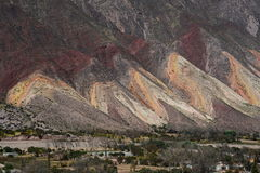 Jujuy nord av Argentina Royaltyfria Bilder