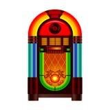 Juke-box royalty-vrije illustratie