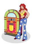 Juke box Stock Photography