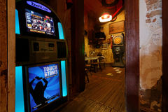 Juke box in a bar of Mississippi Royalty Free Stock Images