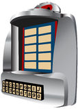 Juke-box 3d Pictogram Stock Afbeelding