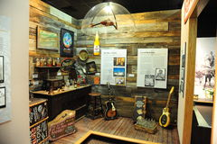 Juke Joint Exhibit at the Tunica Museum in North Mississippi. Stock Photo