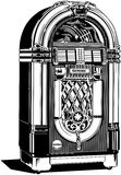 Jukebox 2 Royalty Free Stock Photo