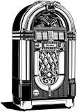 Jukebox 2 Royalty Free Stock Photo