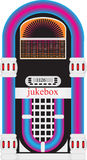 Jukebox. Vector illustration of a jukebox vector illustration