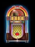 Jukebox. Very realistic and colorful illustration of jukebox