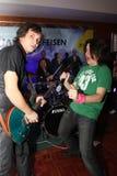 Jukebox band Stock Photography