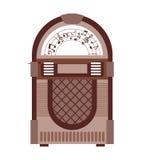 Jukebox  isolated icon design Royalty Free Stock Photo