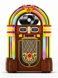 Jukebox isolated on white background. 3D illustration.  vector illustration