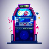Jukebox. music concept -. Illustration vector illustration
