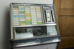 Jukebox. A music player from the past Stock Photo