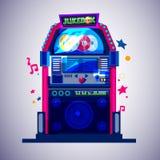 jukebox muzyczny pojęcie - ilustracja wektor
