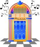 Jukebox retro/eps Fotos de Stock