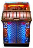 Jukebox. Retro jukebox isolated on white Stock Photos