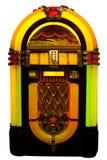 Jukebox. Retro jukebox isolated on white Stock Image
