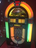 Jukebox velho de Wurlitzer foto de stock