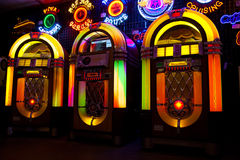 Jukeboxförsäljning Arkivbild