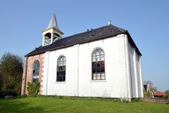 Jukwerd老教会  免版税库存照片