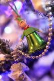 Julälva-klockor i retro stil Arkivbilder