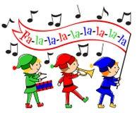 julälvamusikalen ståtar Arkivbild