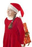 Julöverrrakning Arkivbild