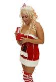 Julöverrrakning Fotografering för Bildbyråer