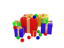 julöverrrakning stock illustrationer