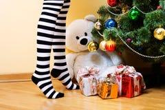 julöverrrakning Arkivfoton