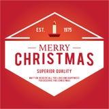 Jul är emblemtemat Garneringbeståndsdelar Fotografering för Bildbyråer