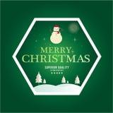 Jul är emblemtemat Garneringbeståndsdelar Arkivbild