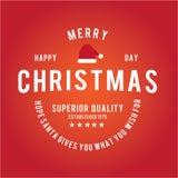 Jul är emblemtemat Garneringbeståndsdelar Arkivbilder