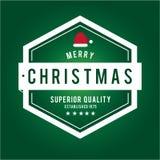 Jul är emblemtemat Garneringbeståndsdelar Arkivfoton