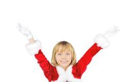 jul alla som är glada till Arkivfoto