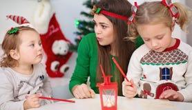 Jul begrepp för nytt år Arkivfoto