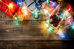 Jul begrepp för ` s för nytt år Fotografering för Bildbyråer