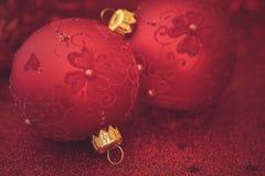Jul blänker bakgrund Arkivbilder