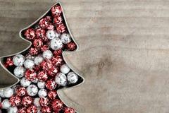 Jul blänker bollar Royaltyfri Fotografi