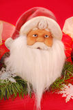 jul claus santa Arkivfoto