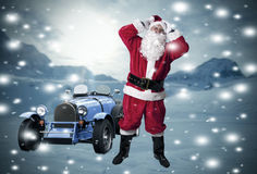 jul claus santa Royaltyfria Bilder