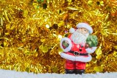 jul claus santa Fotografering för Bildbyråer