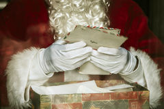 jul claus santa Royaltyfri Fotografi