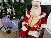 jul claus santa Royaltyfri Bild