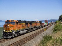 JUL 14, 2018: BNSF 7322 stock photos