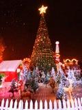Jul en lycklig ferie arkivfoton