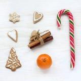Jul ett pussel som skapar en ferieatmosfär Royaltyfri Fotografi