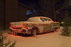 jul för 1 bil Arkivfoto